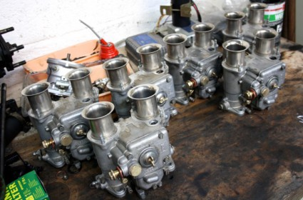 Réfection carburateurs Weber