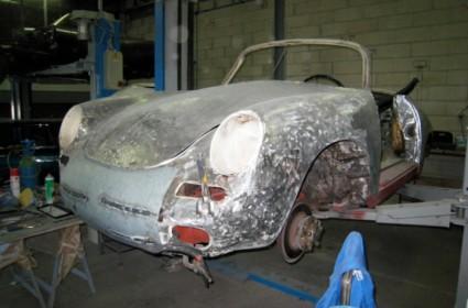 Restauration complète d'une Porsche 356 C