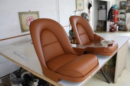 Sellerie Jaguar Type E