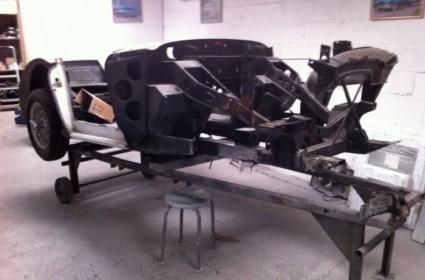Restauration complète d'une Austin Healey 3000 MKIII