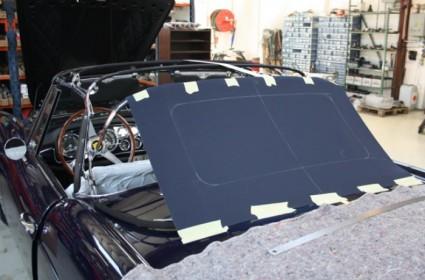 Capote sur mesure pour Ferrari 250 Pininfarina