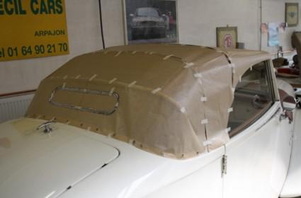 Capote pour Citroën Traction Cab.