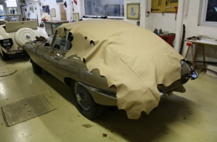 Sellerie complète de Jaguar Type E