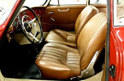Porsche 356 coupé + toit ouvrant