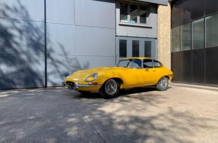 Jaguar Type E plancher plat