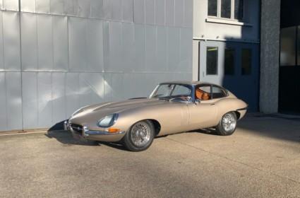 Jaguar Type E 4,2L - Fr d'origine