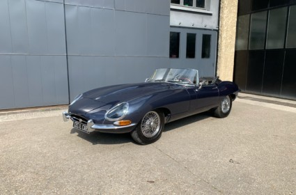Jaguar Type E plancher plat - Fr d'origine
